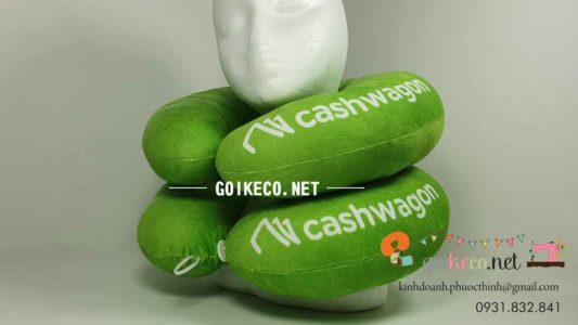 Gối hình chữ U cashwagon vải velboa