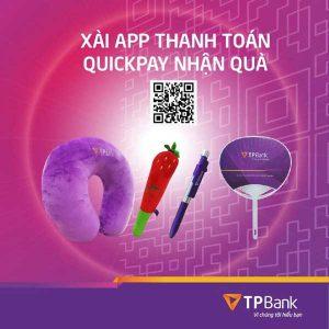 Gối quà tặng ngân hàng TPBANK