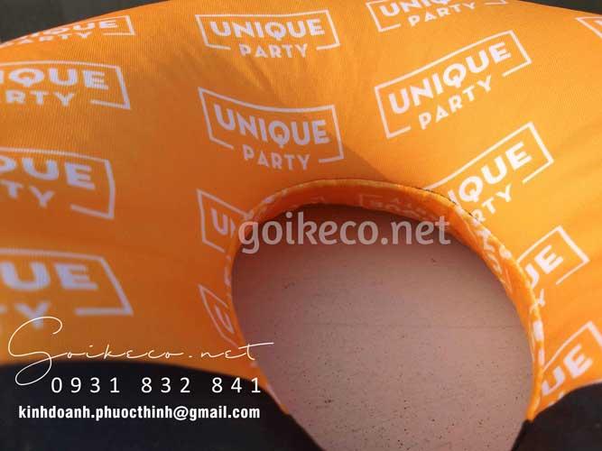 Đường may gối chữ U Vuvuzela