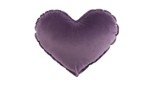 Sản phẩm: Gối hình trái tim vải Velboa