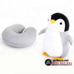 Gối hình thú chim cánh cụt