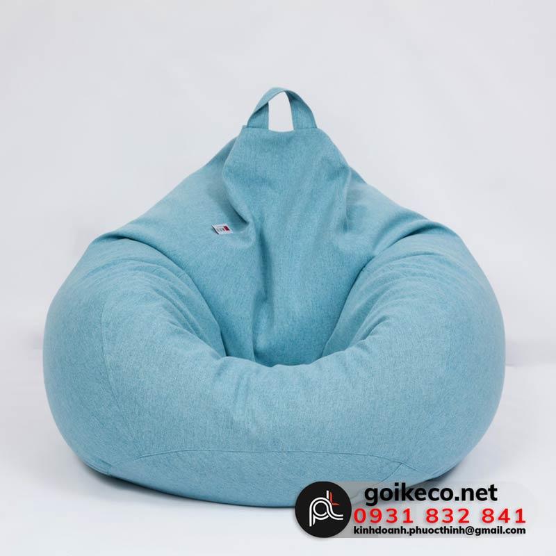 Ghế lười màu xanh