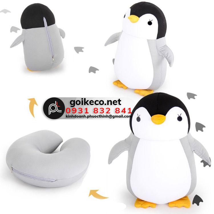 Gối hình chim cánh cụt