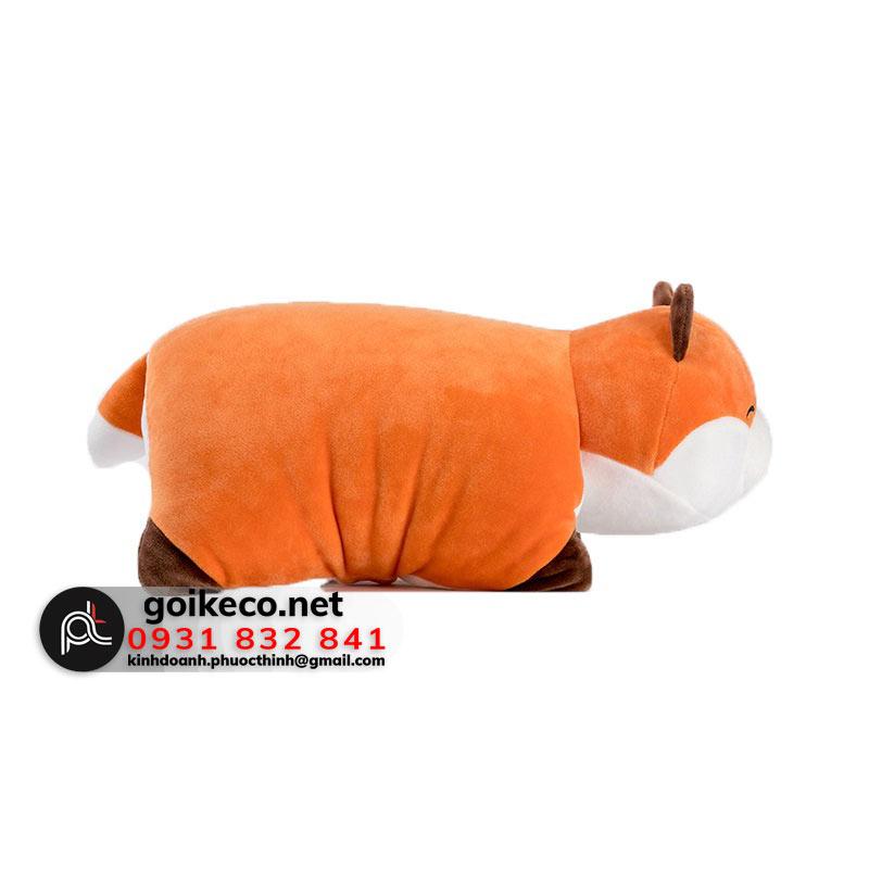 Mặt bên gối 3D hình con cáo