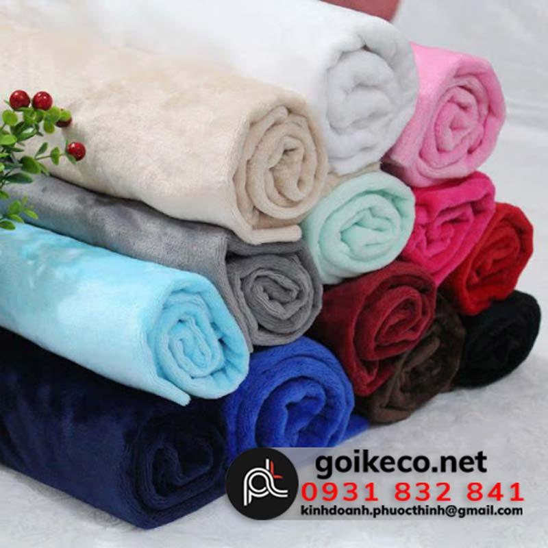Màu sắc vải đa dạng dễ dàng lựa chọn phù hợp với màu đại diện thương hiệu