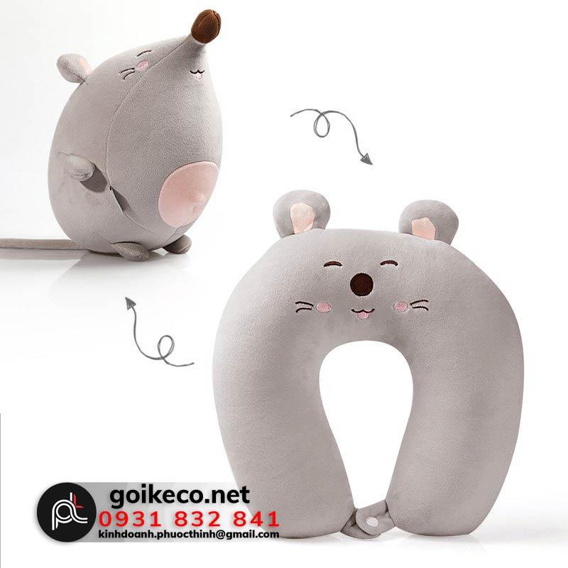 Gối biến hình chữ U chú chuột
