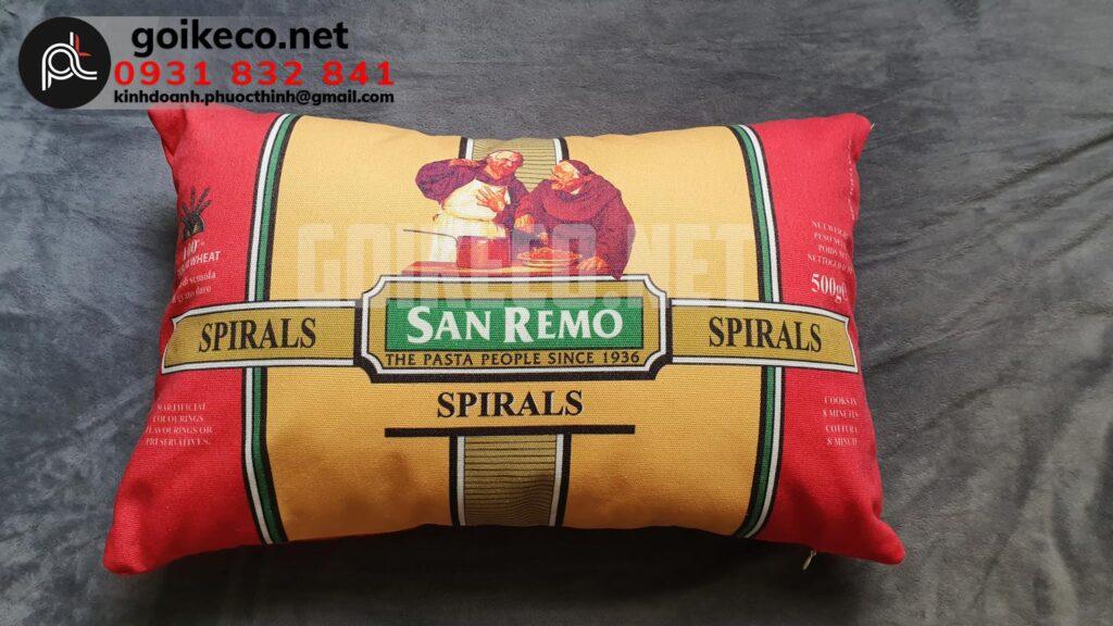 Sản xuất gối tựa lưng San Remo