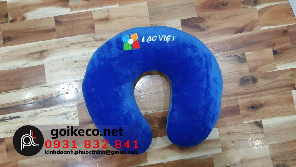 Thêu gối hạt xốp Lạc Việt
