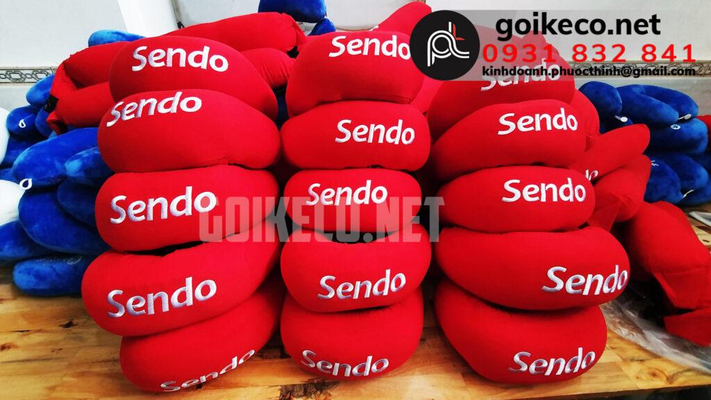Gối hạt xốp theo yêu cầu Sendo